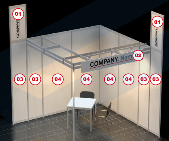 vendtra digitaldruck messestand