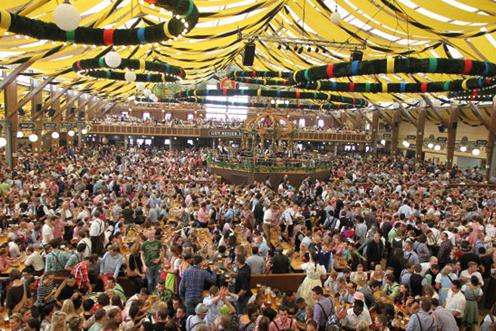 Oktoberfest Festzelt Vendtra