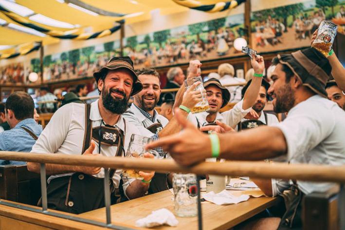 Oktoberfest tradition vendtra