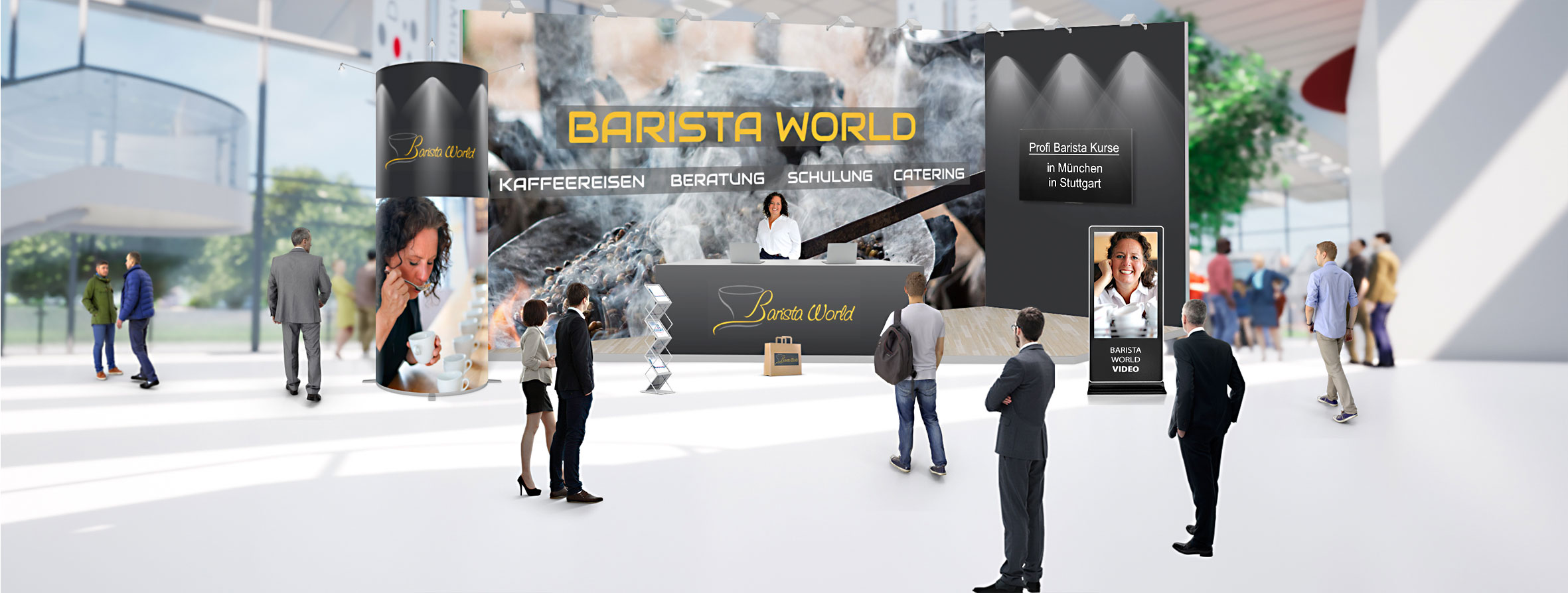 Barista World Vendtra Vending Trade Festival Deutschland