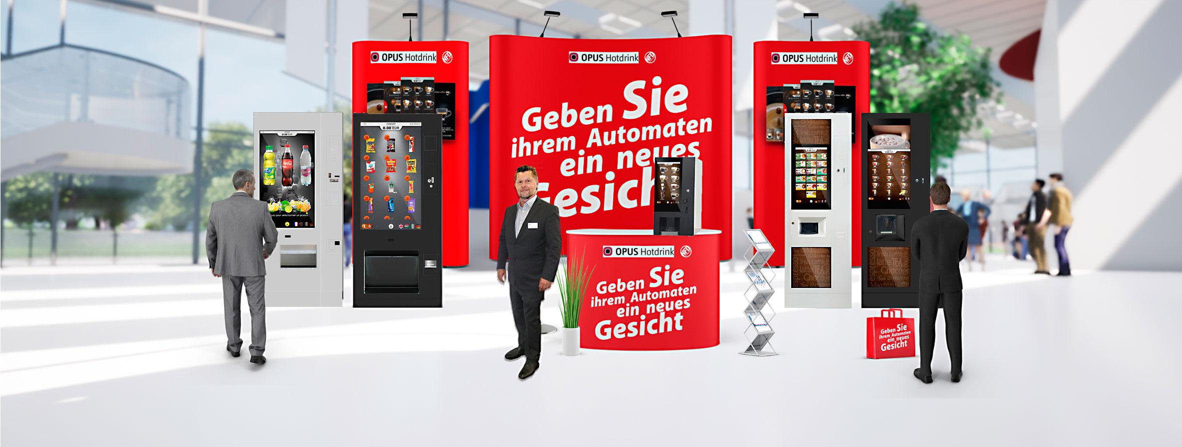 opus Vendtra Vending Trade Festival Deutschland